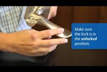 How-To Lock Installation and Use / by Emtek