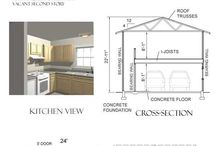 Garage Apartment Plans / by Historic Shed