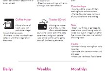 Cleaning/Organizing Tips / by Hattie Prudhomme