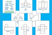 Math ideas / by Kathleen Ricci