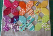English Paper Piecing  / by Brenda - Just a Bit Frayed