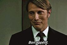 Bon appetit - Dr Hannibal Lecter  / Hannibal / by Conrad Sak