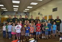 2013 Kids Camps / School Resource Deputies had a blast with 25 local children at Maude Saunders Elementary School!! / by Walton County Sheriff's Office