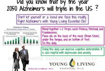 Essential Oils - Alzheimer's/Memory / by Bill and Stephanie Norman