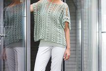 crochet: 4 woman spring, summer / crochet woman spring, summer / by Manuela Richter