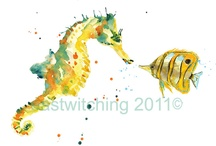 Seahorse/Sea / by Pamela Lee