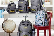 Batman at Pottery Barn / Pottery Barn Kids' BatmanTM bags and BatmanTM lunch bags feature kids' favorite superhero. Find durable Bathmantm luggage and and make heading back to school fun. / by DC Comics