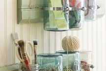 Craft room ideas / by Patti Hunter Autullo