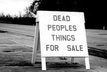 Estate Sale signs / by sheilafh@gmail.com sheilafh@gmail.com