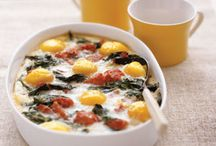 Egg dishes / by Jessica Evans