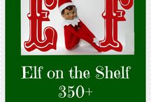 Elf on the shelf / Elf on the shelf ideas  / by Wendi Mohr