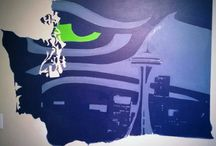 Seattle SeaHawks / by Charlotte Lindstrom