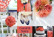 Coral and Navy / by Shelby Massa