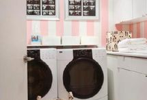 Almost Family Laundry Room Closet / by Crystal P
