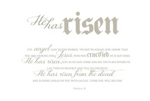He Has Risen! / by Cortney Jenkins
