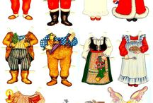 paper dolls / by mon ami   Thea