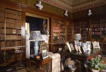 The Spanish Library / The Spanish Library contains one of the most valued book collections in Harewood House, Yorkshire. Among the collection is Georgio Vasair's seminal volumes, 'Lives of the Painters', published in 1568. This collection is just an example of the cultural heritage available at Harewood House. / by Harewood House