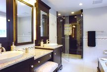 A+ Bathrooms / Any and all bathroom design. Looking for practically and function and a touch of glamor / by Kelli Culpepper
