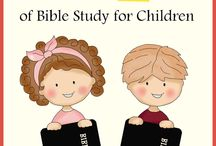 ABCs of Bible Study for Children Series Authors / Resources for teaching young children about the Christian faith.  / by Dusty @ To the Moon and Back