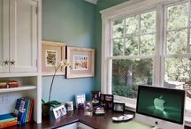AHome Office / by Jeanette Thompson