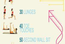 workouts / by Kayla Dumbleton