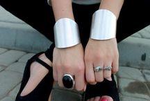 handmade cuffs / by Lurlene Booth