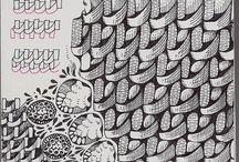 Tangle Patterns / by Barbara Burnard