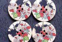 Buttons - Crafts, Creations & More / by Linda T
