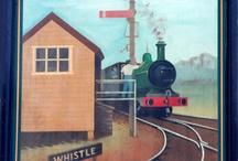 trains / by Tiana Gustafson