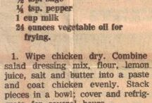 Vintage Recipes / These vintage recipes and old-fashioned recipes bring back a part of the good 'ole days. / by AllFreeCopycatRecipe