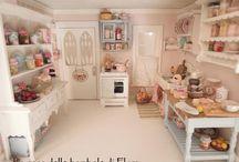 Dollshouses interiores / by Alicia Msv