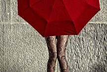 Red umbrellas everywhere / by Wendy Ricketts