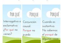 Ortografia / by Loli Morilla Barroso