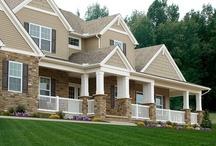 Homes by Custom Home Builder Wayne Homes / by Wayne Homes