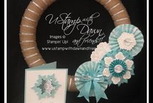 Christmas Decorations / by Creatin' With Kirsteen: Kirsteen Gill Independent Stampin' Up! Demonstrator