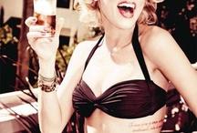 Celebs Who Love Marilyn / Celebrities channel Marilyn Monroe / by Marilyn Monroe