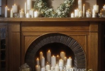 holiday mantels / by Patricia Beach
