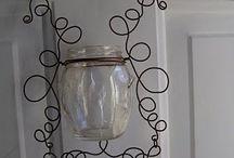 Wire bottle work / by Lynette Reed