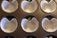 Heart shape cupcakes / by Karen Vacchieri