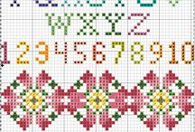 cross stitch / by Hazel TheBunny