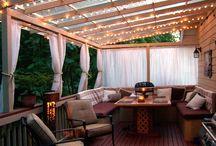 Back Porch  & Yard Ideas / by Kelly