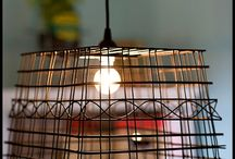Shabby chic lights, lamps & more / by Pam Taylor
