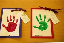 Handprint/Footprint Art/Preschool / by Wendy Bolick