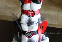 baby and bridal showers / by Judy Aschenbrand