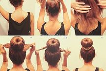 hairstyles / by Kristin Bustamante