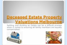 Deceased Estate Property Valuers Melbourne / Whenever you decide to buy, sell or renovate a property, save yourself a lot of time and money, and turn to Deceased Estate Property Valuer Melbourne. With their assistance you will be able to make an informed decision, one you will not regret later on / by Land Valuers Melbourne