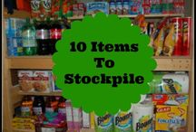 Stockpiling & Frugal Living / How to stockpile, use coupons, save money and live a frugal lifestyle. #StockpilingMoms #SPMOMS / by Stockpiling Moms