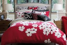 Teen Girl Bedrooms / Teen Girls Rooms, teen girl bedding, teen girl bedroom design ideas / by Tracy Svendsen