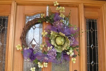 My Obsession With Wreaths / by Sue Bullis