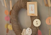Cute As A Button Baby Shower / by Mandy Hess